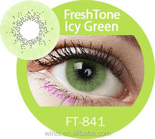 wholesale new arrival beautiful FreshTone Super Natural 15 colors cosmetic contact lens