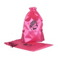 wholesale made in China drawstring hair custom satin bags