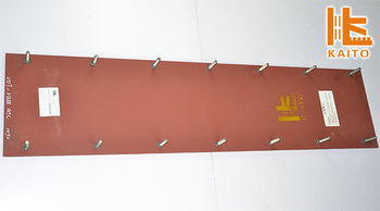 Dynapac hollow core slab machine screed plate 3m