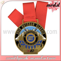 sports metal medal awards souvenir gifts award with enamel color metal medal