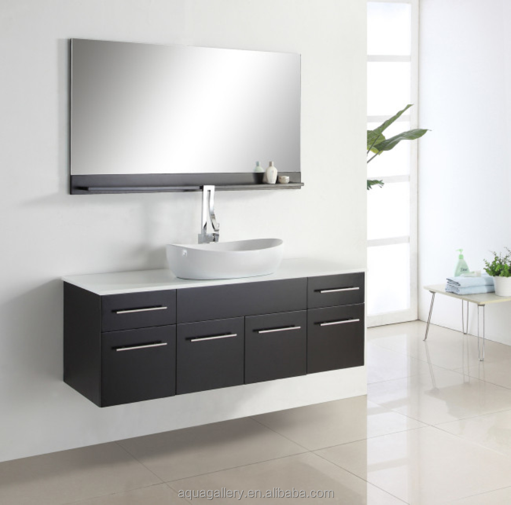 Cheap Vanities Online 60 Inch One Basin Wall Hung Modern Bathroom Vanities How To Build A