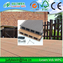 europe standard outdoor wood plastic composite wpc decking