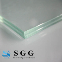 clear laminated glass door/ fence/ ceiling/ floor/ canopy/ door/ partition