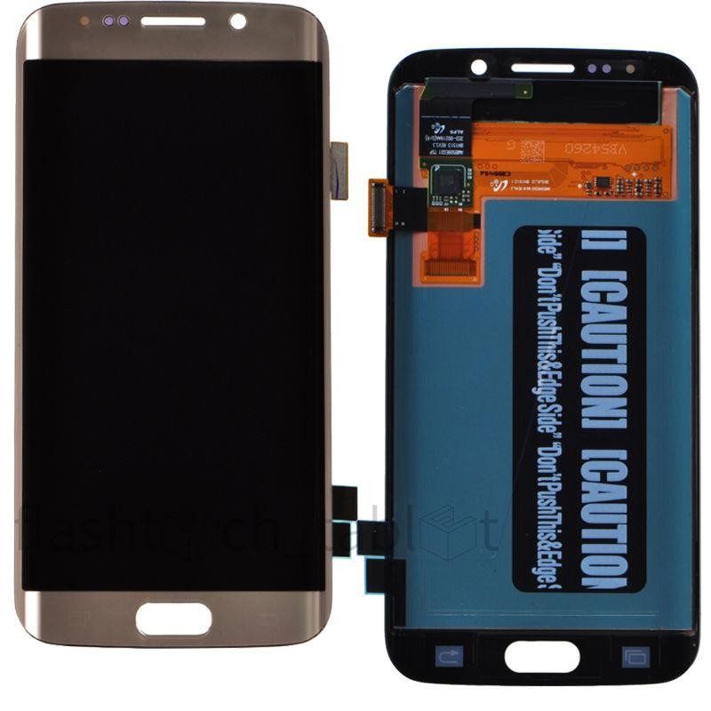 mobile phone parts for samsung galaxy s6 edge phone digitizer lcd screen
