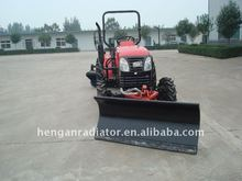 TX210 front hydraulic snow blade snow plough snow blower with CE tractor