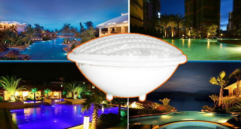 LED Par56 bulb Lamp 54W 12V AC par 56 swimming pool lighting RGB IP68 LED underwater Pond lights