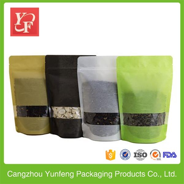 High quality material flexible packaging for tea