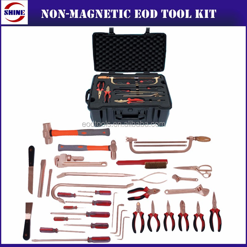 36pcs Non Magnetic EOD Tool Kit