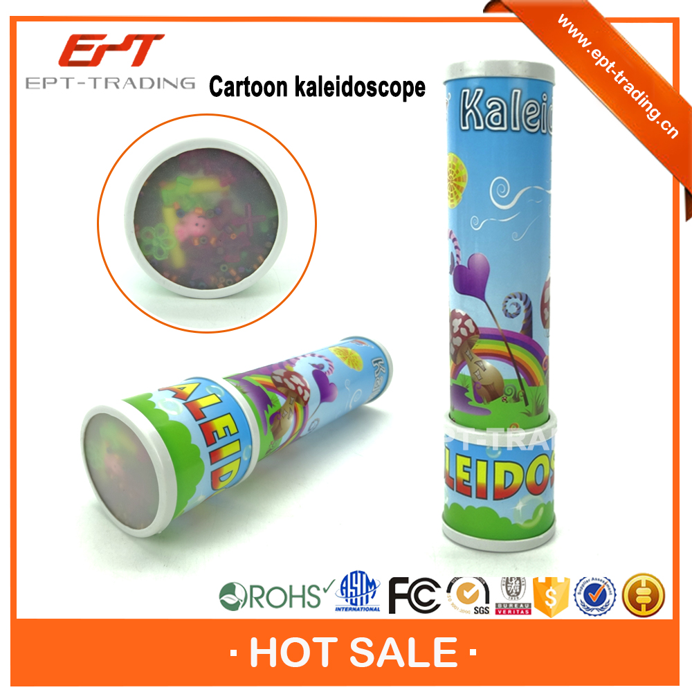 Educational plastic toy kaleidoscope projector for sale