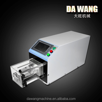 New Thin Coaxial Cable Automatic Copper Wire Stripping Machine ...
