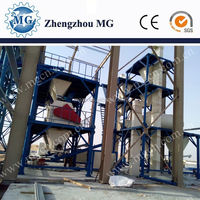 Latest technology Chinese product full automatic dry mortar and plaster board production line on alibaba export hot sale