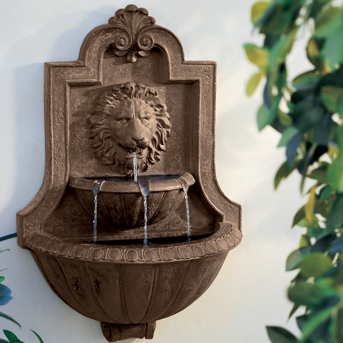 Directly Factory wall mounted marble water fountain