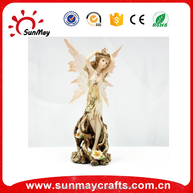 Custom high quality small fairy figurines wholesale for sale