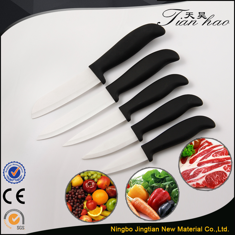 High Quality White Kitchen Chopping Vegetable Ceramic Knife Japanese Style