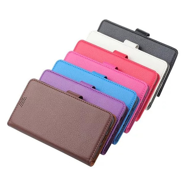 For iPhone 7 Litchi Grain PU Leather Phone Case, Flip Cover with Credit Card Holder Back Cover for iPhone7