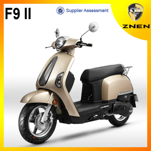 2014 ZNEN MOTOR New Generation Diesel Gas Scooter With EEC COC And Dot Approved Stable Quality Vintage Motorcycle