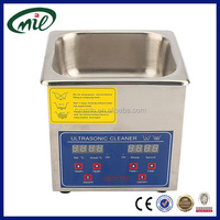 1.3L stainless steel cleaning machine digital heated ultrasonic cleaner digital ultrasonic cleaner ps-08a