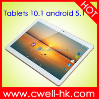 10.1 Inch IPS 1280*800px 4G LTE Tablet PC Android 5.1 MTK6735 Quad Core ROM 16GB Dual Sim Card Wifi Bluetooth GPS OEM