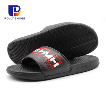 Comfortable Casual Molded Padded Upper Slide Man Sandal Slipper