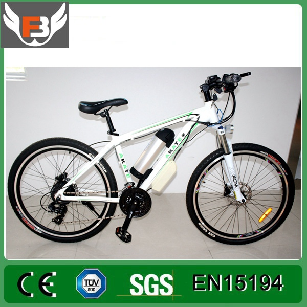36V 10A PAS system 250w 8 fun brushless hub motor 26 inch electric bike