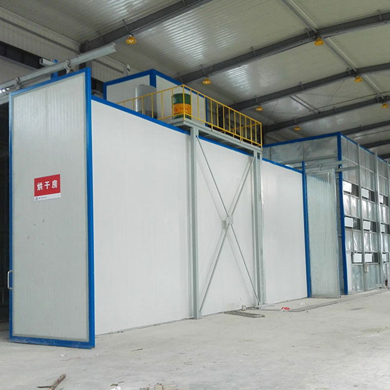 Design automatic powder coating line with corresponding spray gun