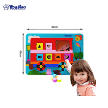 Hot Sale Educational Wooden Board Toy Kids Puzzle Sorted Toy
