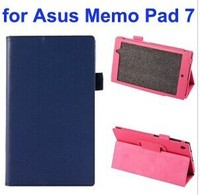 Litchi Texture Full-body Protective Flip Cover Leather Tablet Case for Asus MeMo Pad 7 ME572CL with Stand