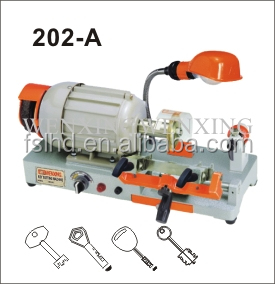 China high security key cutting machine for WenXing 202A Senior single head key making duplicate machine