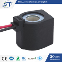 SHUNTE Hot Sale DC12V 13W Auto Solenoid Coil With Flying Leads Ip 65 100%ED