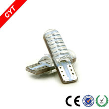 Wholesale auto/car W5W T10 LED lights 3010 24SMD T10 strobe interior lamp reading light