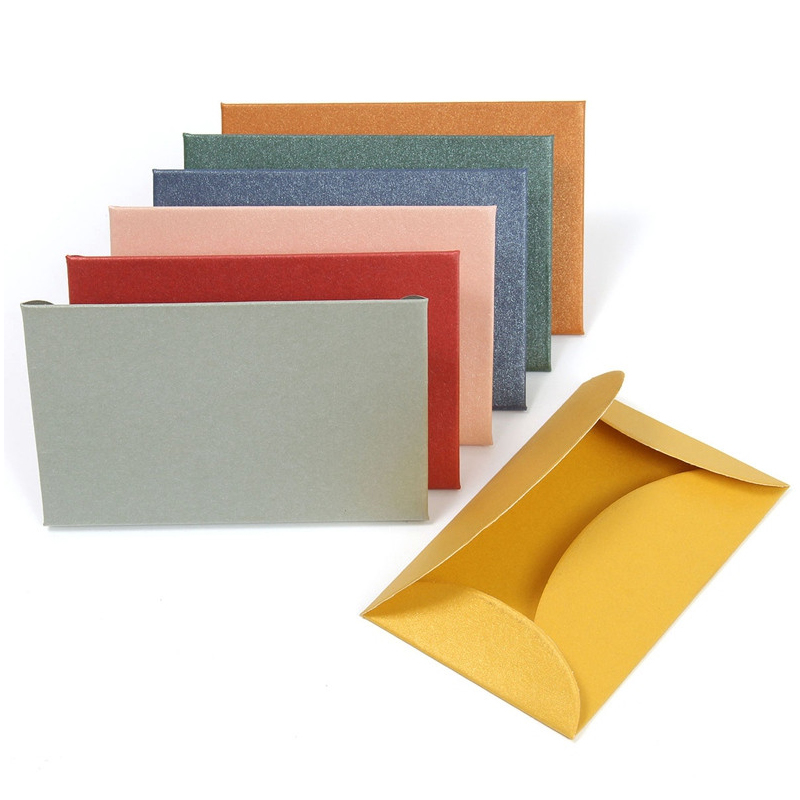 Hot sale cheap kraft /pearl paper colorful fancy blank cards and envelope for invitation