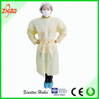 Free sample! CE certificate sterile disposable surgical gown