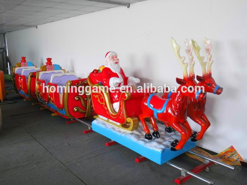 Santa Claus Track Train Christmas Amusement Rides Best-seller