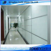 6mm Decorative glass Acid etched frosted Glass for bathroom door ,windows,frosted glass bathroom window