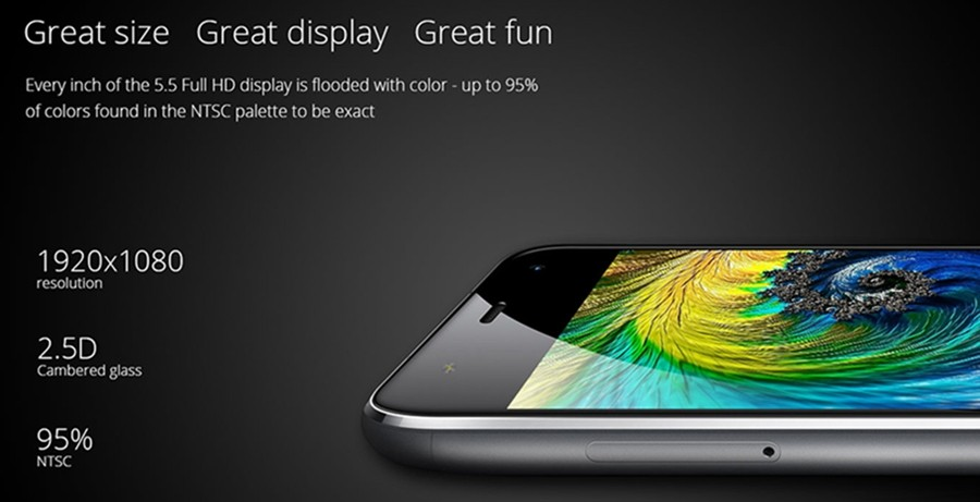 Original UMI Touch 4G LTE FDD MTK6753 Octa Core Smartphone 3GB 16GB FHD 13MP Fingerprint Unlock Phone