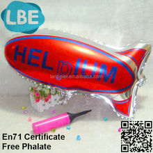 custom print foil ballons blimp for sale