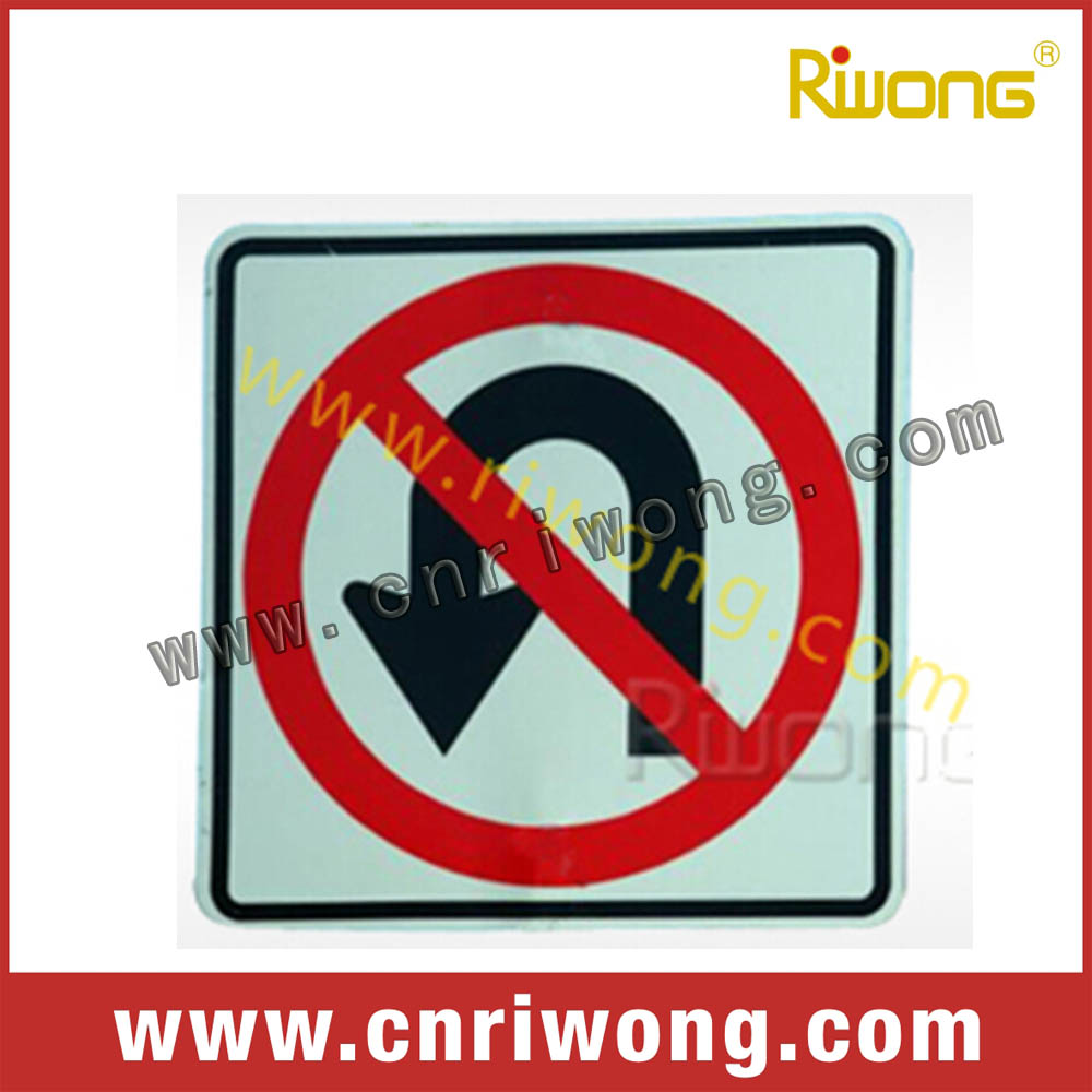 traffic sign plate