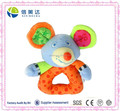 Plush Colorful Mouse Rattle Baby Toy