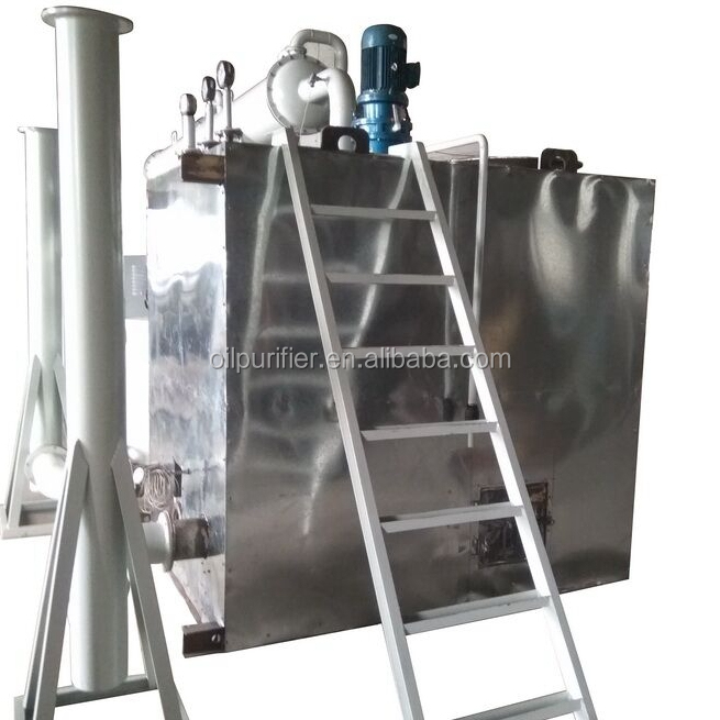 Used black engine oil recycling and regeneration machine / oil purifying machine/waste Motor oil Filtration System