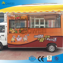 Hot sale Electric Food Van