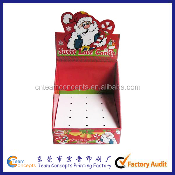 Professional Candy Perforated Display Boxes
