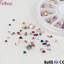 pinpai brand best selling fashion opoola nail art decoration art 3d nail rhinestone