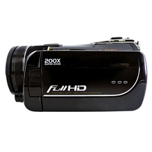 "Professional HD 1080p Digital Camcorder 12MP MAX Digital Video Camera 20x Optical Zoom 3.0"" TFT LCD Screen"
