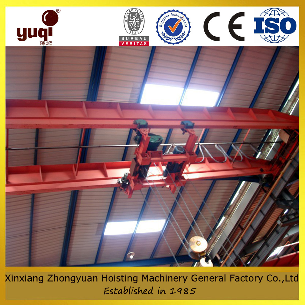drawing customized warehouse bridge crane to lift goods used in workshop