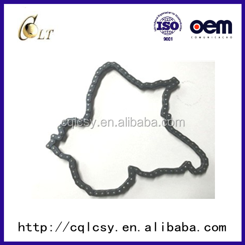 Chongqing motorcycle chain 428H industry stainless steel material OEM quality