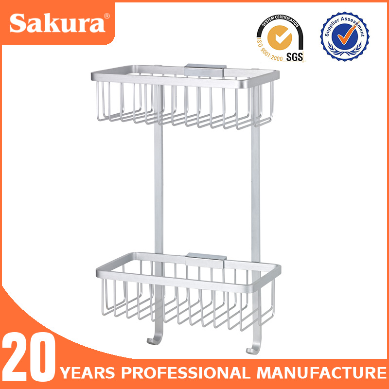 Aluminium Bathroom Basket Dual Tier With Hooks Two Tier Shower Caddy. List Manufacturers of Aluminium Shower Caddy  Buy Aluminium Shower