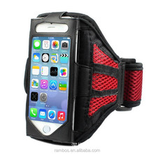 Breathable Mesh Net Armbands Fitting Running Sport Cover Case for iPhone 6S 6S Plus