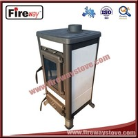 Cold rolled steel material freestanding wood stove