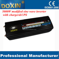 5000w modified sine wave inverter with charger ups for office home factory industry use