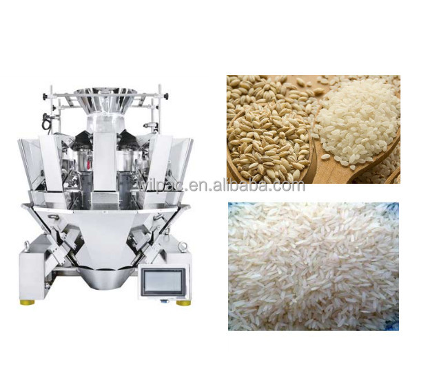 Multihead weighers, high accurancy weighers, high accuracy multihead weighers packing machine for rice